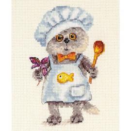 Basik Chef Cross Stitch Kit By Alisa