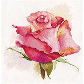 The Breath Of Rose Cross Stitch Kit By Artibalt