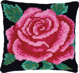 Classical Rose Printed Cross Stitch Kit by Needleart  World