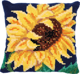Sun Bloom Printed Cross Stitch Kit by Needleart World