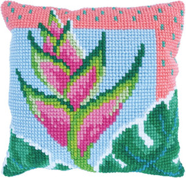Paradise Bloom Printed Cross Stitch Kit by Needleart World