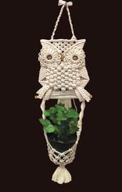 Owl Planter Macramé Kit by Design Works