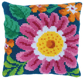 Summer Day Printed Cross Stitch Kit by Needleart World