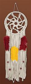 Coloured Feather Dreamcatcher Macramé Kit by Design Works