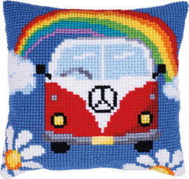 Holiday Adventure Printed Chunky Cross Stitch Kit by Needleart World