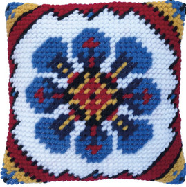 Indian Blue Tapestry Kits Kit by Needleart World
