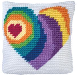 Wishing Heart Tapestry Kits Kit by Needleart World