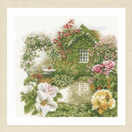 Rose Garden Cross Stitch Kit by Lararte