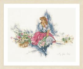 My Fair Lady Cross Stitch Kit by Lanarte