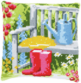 My Garden Chunky Cross Stitch Kit by Vervaco