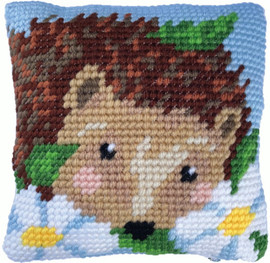 Daisy Hedgehog Tapestry Kit by Needleart World
