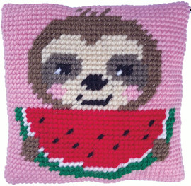 Sloth Munch Tapestry Kit by Needleart World