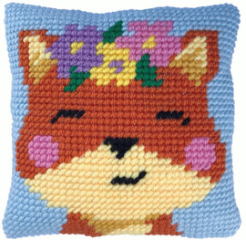 Spring Time Fox Tapestry Kit by Needleart World