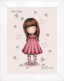 Gorjuss Little Love Cross Stitch Kit by Vervaco