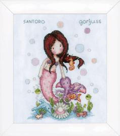 Gorjuss Nice to Sea You Cross Stitch Kit by Vervaco