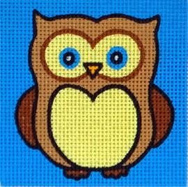 Owl Tapestry Kit by Gobelin
