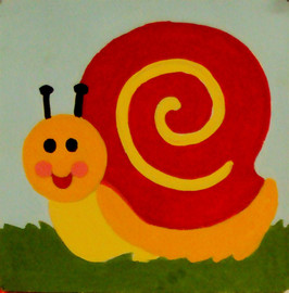 Snail Tapestry Kit by Gobelin