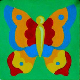 Butterfly Tapestry Kit by Gobelin