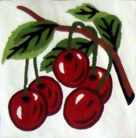 Cherries Tapestry Kit by Gobelin
