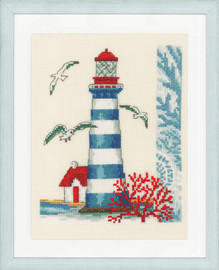 Lighthouse Counted Cross Stitch Kit by Vervaco