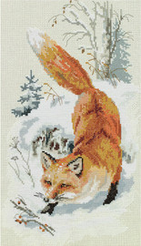 In Freshly Fallen Snow Counted Cross Stitch Kit By Panna