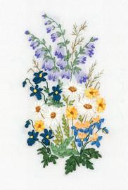 Garden Lyricism Ribbon Embroidery Kit By Panna
