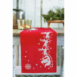 Sleigh Runner Embroidery Kit by Vervaco