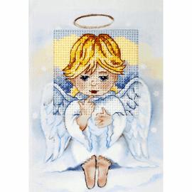 Angel Cross Stitch Card Kit by Orchidea