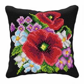 Wild Flowers Chunky Cross Stitch Kit by Orchidea