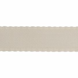 1 Metre of Aida Band Fabric: 70mm: 16 Count: Cream