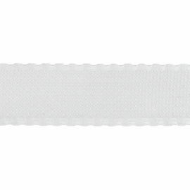 1 Metre of Aida Band Fabric: 100mm: 16 Count: White