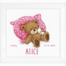 Sweet Bear Cross stitch Kit by Vervaco