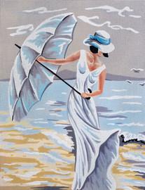 Windy Day Tapestry Canvas Kit by Gobelin-L