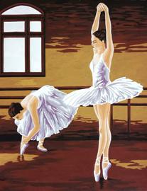Ballerinas Tapestry Canvas Kit by Gobelin-L