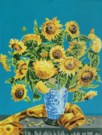 Sunflowers Tapestry Canvas Kit by Gobelin-L
