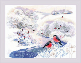 Winter River Counted Cross Stitch Kit by RIOLIS