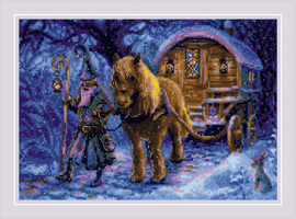 Travelling Sorcerer Counted Cross Stitch Kit by Riolis