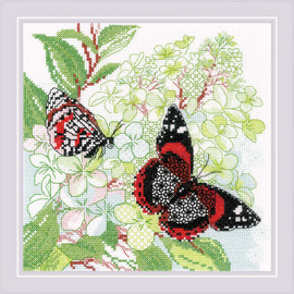 The Joy of Summer Counted Cross Stitch Kit by Riolis