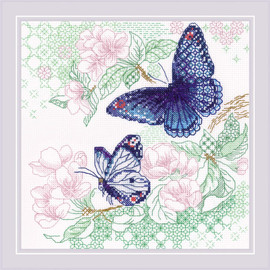 The Lightness of Spring Counted Cross Stitch Kit by Riolis