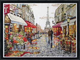 Flower Shop Counted Cross Stitch Kit By Design Works