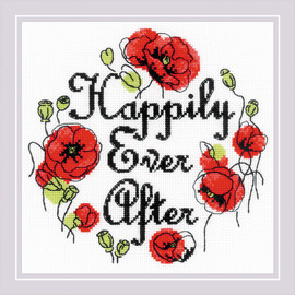 Happily Ever After Counted Cross Stitch Kit By Riolis