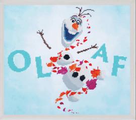 Olaf Disney - Frozen 2 Diamond Painting Kit by Vervaco