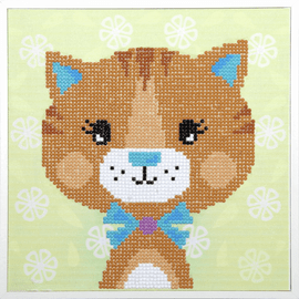 Little Cat Diamond Painting Kit By Vervaco