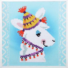 Llama  Diamond Painting Kit By Vervaco
