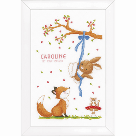 Forest Friends  Counted Cross Stitch Kit By Vervaco