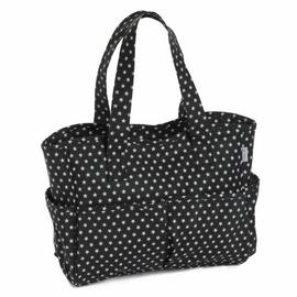 Black Star Matt PVC Craft Bag by Hobby Gift