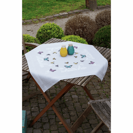 Butterfly Dance Tablecloth Embroidery Kit