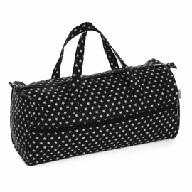 Black Star Knitting Bag Matt PVC by Hobby Gift