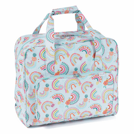 Rainbow Matt PVC Sewing Machine Bag