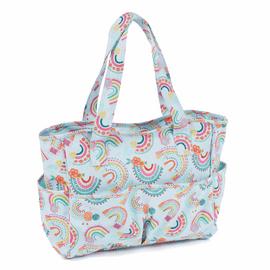 Rainbow PVC Craft Bag
